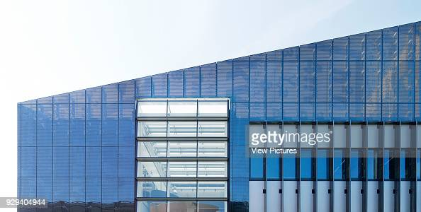 Detail of steel cladding and fenestration  Graphene