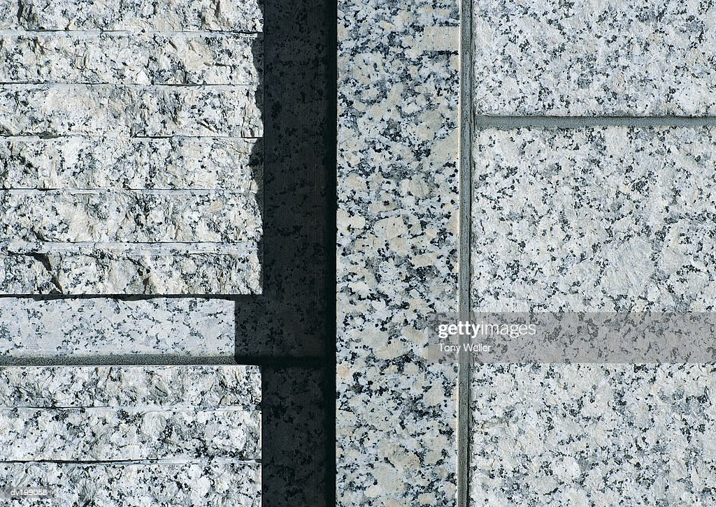 Detail of stone facade : Stock Photo