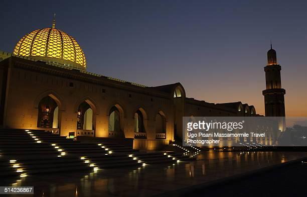 Detail of Sultan Qaboos Grand Mosque