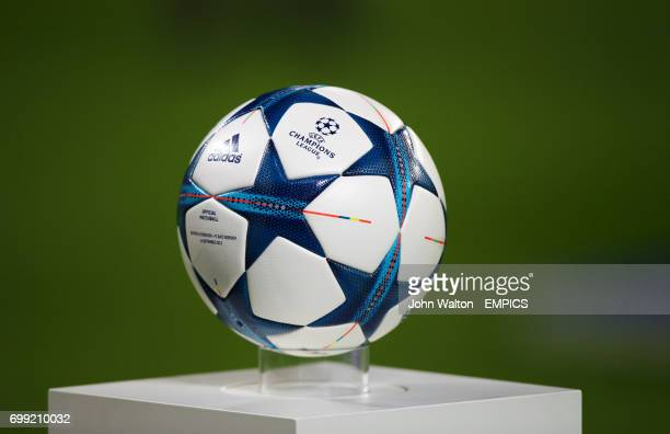 Detail of the Adidas Official Champions League Finale Match Ball