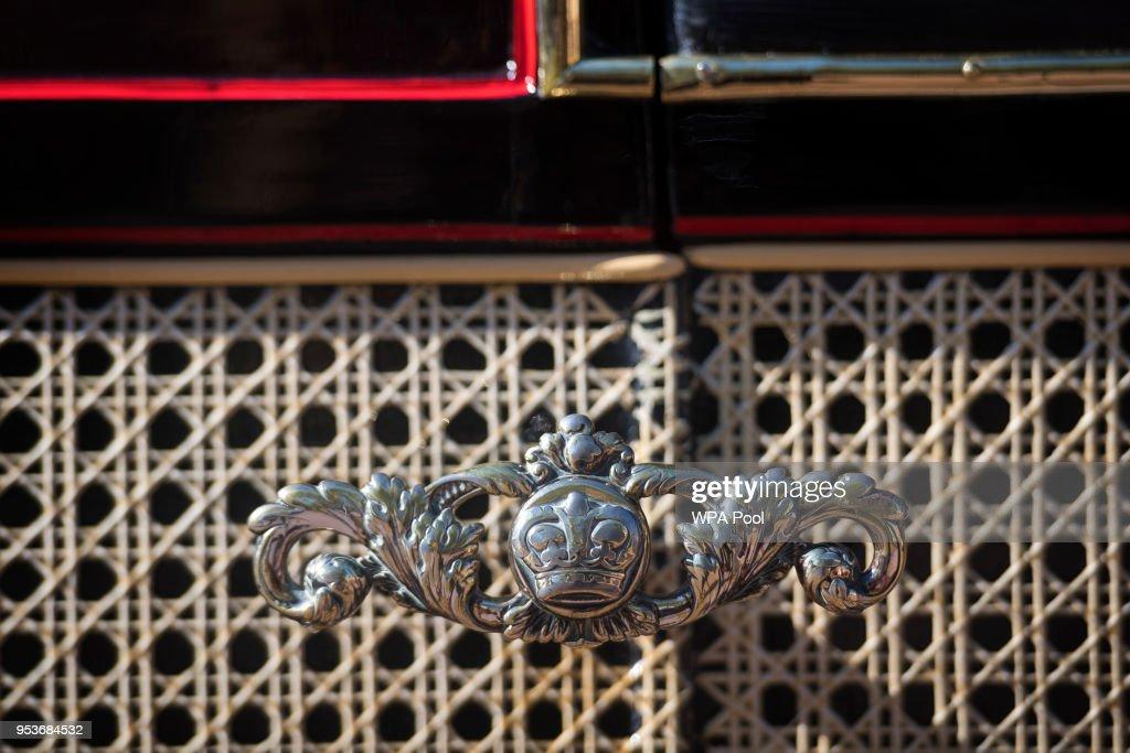 Royal Mews At Buckingham Palace : Fotografía de noticias