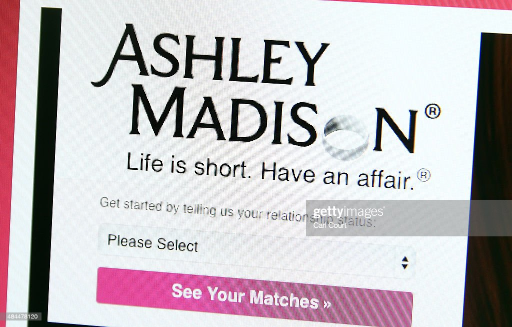 A detail of the Ashley Madison website on August 19, 2015 in London, England. Hackers who stole customer information from the cheating site AshleyMadison.com dumped 9.7 gigabytes of data to the dark web on Tuesday fulfilling a threat to release sensitive information including account details, log-ins and credit card details, if Avid Life Media, the owner of the website didn't take Ashley Madison.com offline permanently.