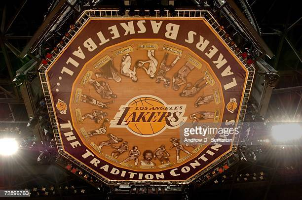 Detail of the bottom of the scoreboard during the NBA game between the Atlanta Hawks and the Los Angeles Lakers at Staples Center on December 8 2006...