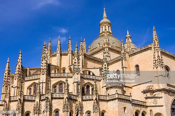 detail of the cathedral - comunidad autónoma de castilla y león fotografías e imágenes de stock