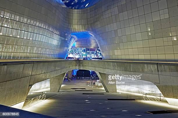 Detail of the Dongdaemun Design Plaza