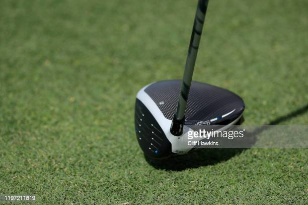 Detail of the driver of Jim Herman of the United States during the first round of the Sentry Tournament Of Champions at the Kapalua Plantation Course...