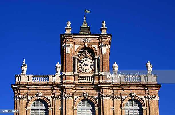 detail of the ducal palace in modena, italy - modena stock pictures, royalty-free photos & images