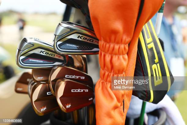 Detail of the irons of Rickie Fowler of the CDC Foundation team during the TaylorMade Driving Relief Supported By UnitedHealth Group on May 17, 2020...