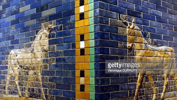 Detail of the Ishtar gate Pergamon museum in Berlin Germany in 2009 Detail of the Ishtar gate The Ishtar Gate was the eighth gate to the inner city...