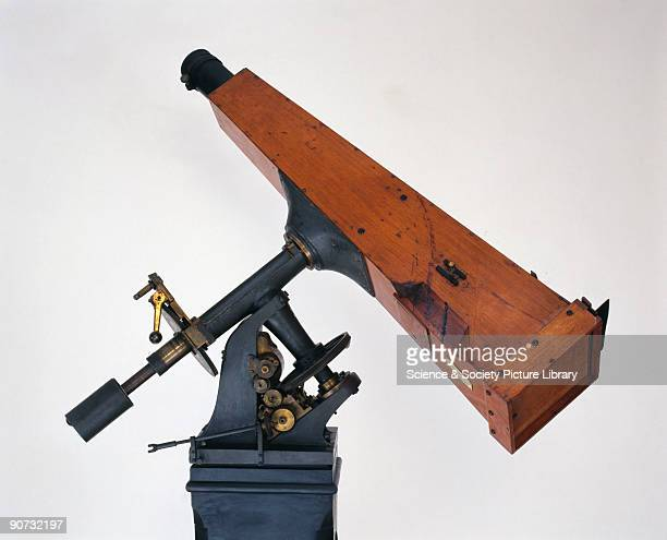 Detail of the Kew photoheliograph the first astronomical instrument specifically designed for photographing celestial objects Conceived by the...
