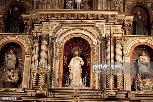 Detail Of The Main Altarpiece Of The Church Of The Compañía In The 'manzana Jesuítica' Of The City Of Córdoba Argentina
