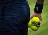 london england detail match balls during