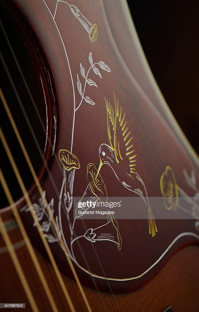 Vintage gibson acoustic guitar pickguards