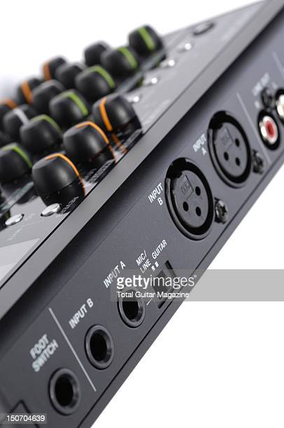 Detail of the ports on a Tascam DP008 8track digital recorder taken on August 26 2010