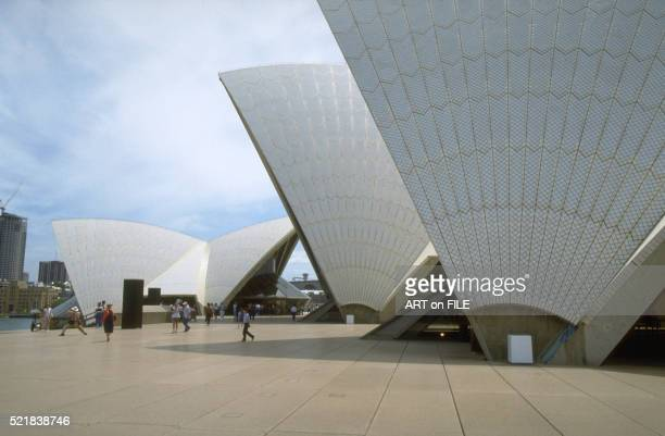Detail of the Sydney Opera House