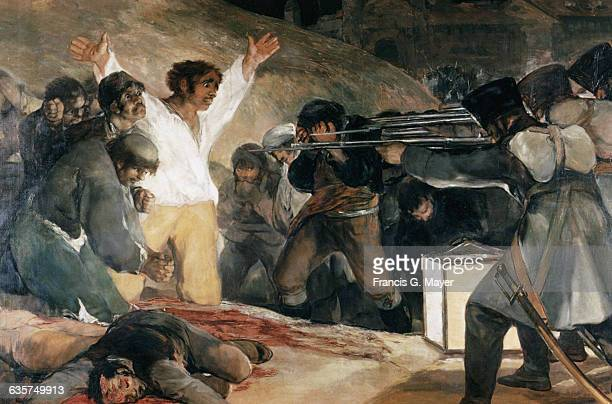 Detail of The Third of May 1808 by Francisco Jose de Goya y Lucientes