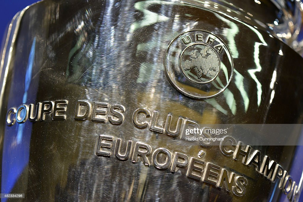 UEFA 2014/15 Champions League and UEFA Europa League Third Qualifying Rounds Draw : News Photo