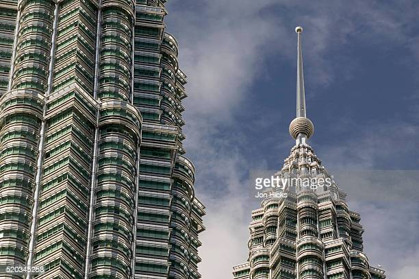 Detail of Top of Petronas Towers