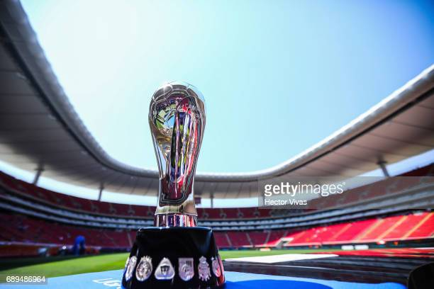 Detail of Torneo Clausura 2017 Liga MX Trophy is seen prior the Final second leg match between Chivas and Tigres UANL as part of the Torneo Clausura...