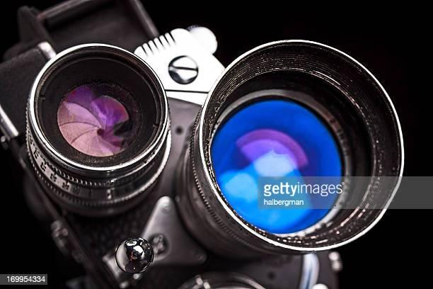 Detail of Vintage 8mm Super 8 Movie Camera