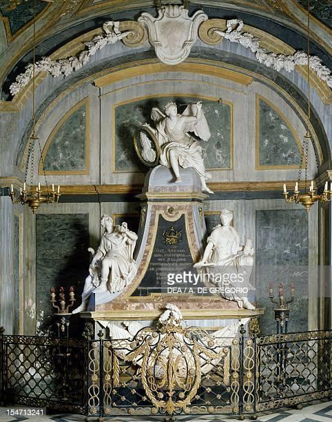 Detail of Vittorio Amedeo II's tomb Basilica of Superga Turin Italy 18th century