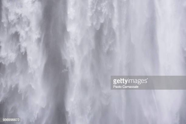 detail of waterfall - falling water stock photos and pictures