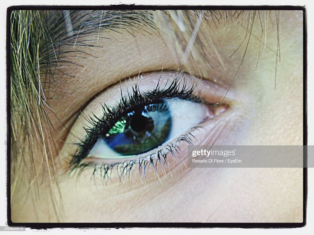Detail Of Womans Face : Foto stock