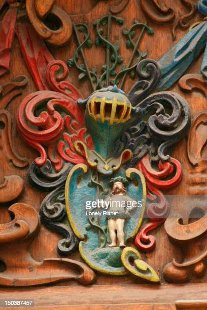 detail on door at three sisters hotel. - harjumaa stock pictures, royalty-free photos & images