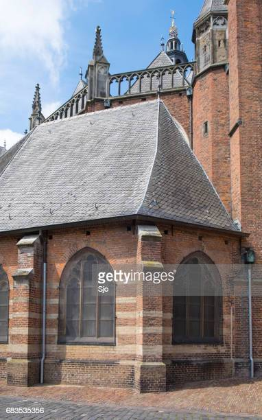 "detail on the st. walburgis church in zutphen in gelderland, the netherlands - ""sjoerd van der wal"" or ""sjo"" stock pictures, royalty-free photos & images"
