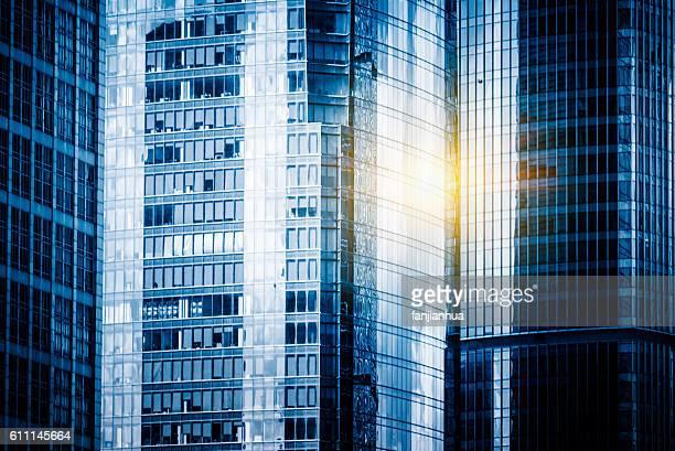 detail shoot of Modern Buildings
