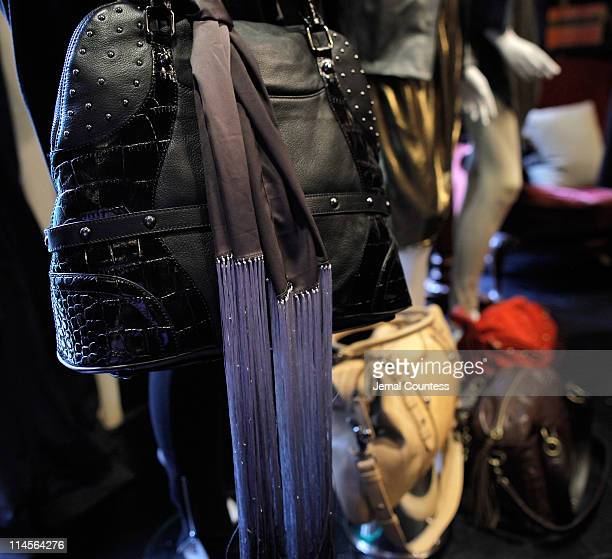 A Detail Shot Of Handbag From The Queen Latifah Lifestyle Collection On Display At