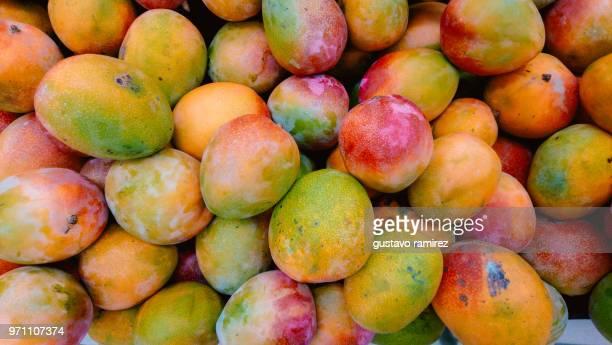 Detail Shot Of Mangoes