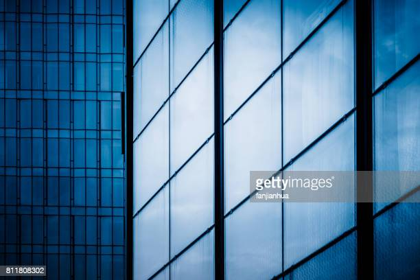 detail shot of modern architecture facade,business concepts