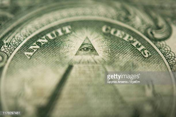 detail shot of providence eye - freemasons stock pictures, royalty-free photos & images