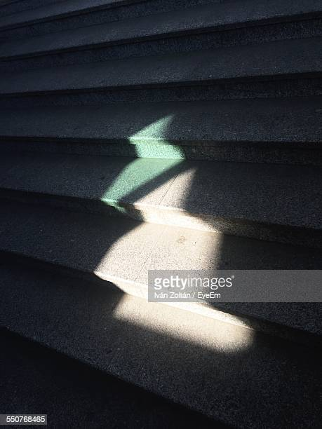 detail shot of sunlight on stairs - iván zoltán stock pictures, royalty-free photos & images