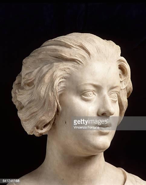 Detail Showing Head of Figure from Costanza Bonarelli by Gian Lorenzo Bernini
