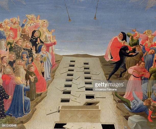 Detail Showing the Separation of the Saved and the Damned from Last Judgment by Fra Angelico