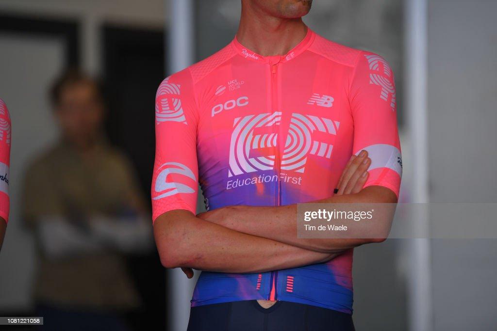 EF Education First Pro Cycling Team 2019 - Rapha New Jersey Presentation : ニュース写真