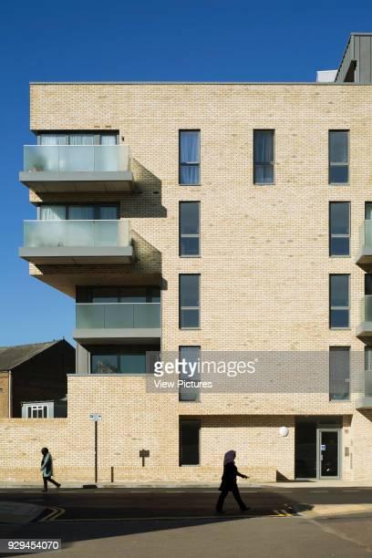 Detail view of housing scheme Hicks Bolton Bond Housing Scheme London United Kingdom Architect Rick Mather Architects 2015