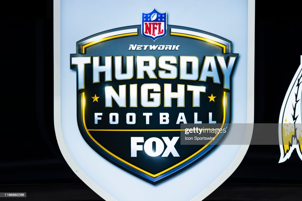 Detail View Of The Nfl Network Thursday Night Football On Fox Logo Nachrichtenfoto Getty Images