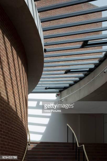 Detail view of walkway Attenborough Centre Brighton United Kingdom Architect RH Partnership 2015