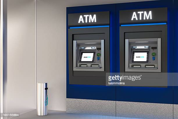Detailed Image of an ATM