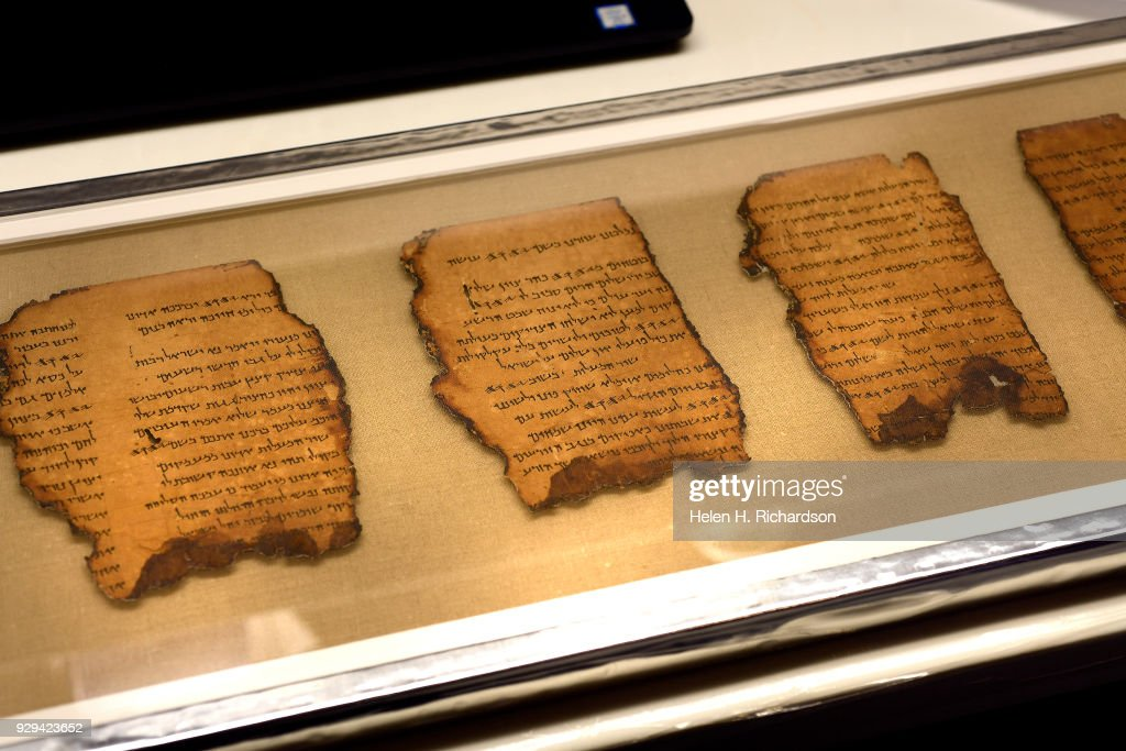 The Dead Sea Scrolls come to the Denver Museum of Nature and Science. : News Photo