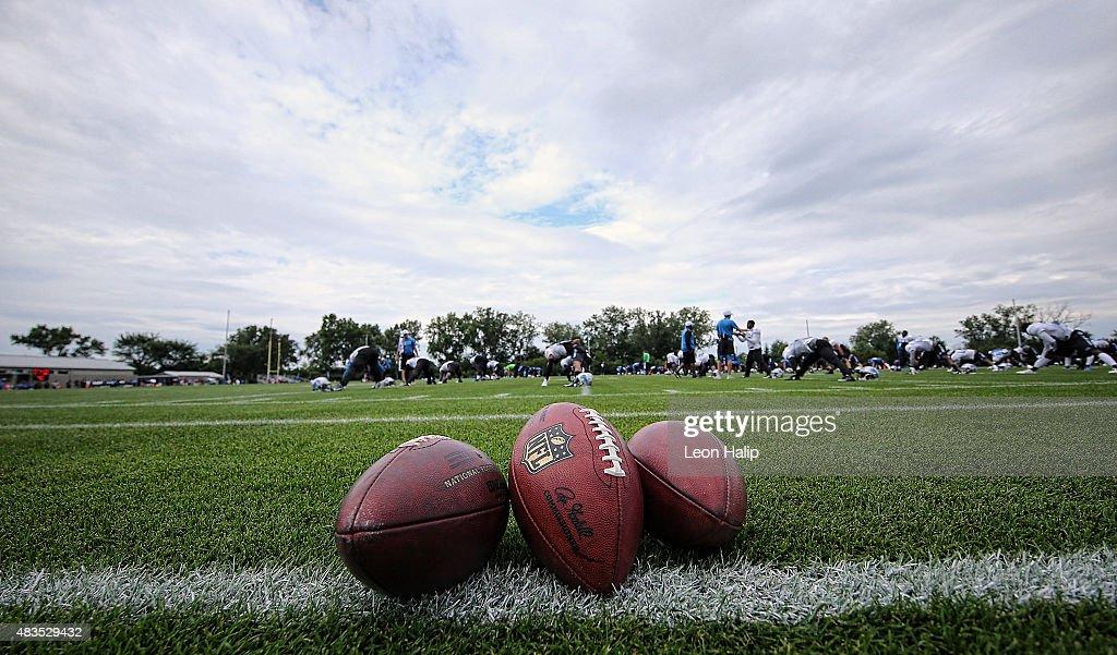 Detroit Lions Training Camp : News Photo