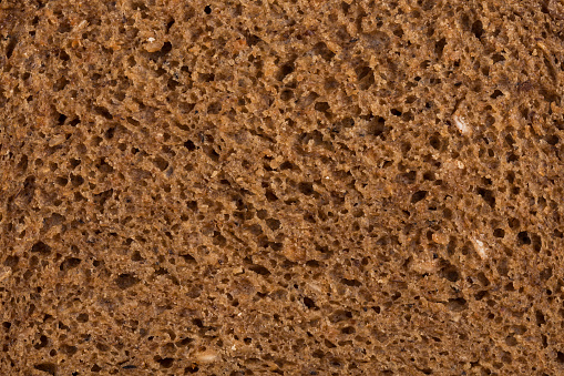 detailed look at the rye bread texture - gettyimageskorea