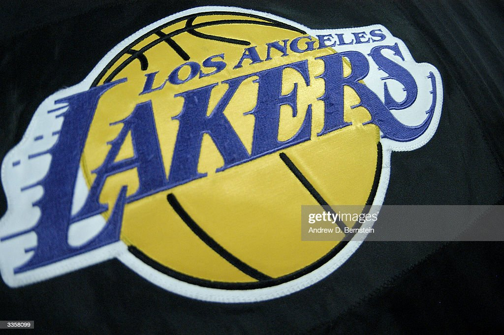 Houston rockets v la lakers photos and images getty images a detailed shot of the los angeles lakers logo taken during the game against the houston voltagebd Choice Image