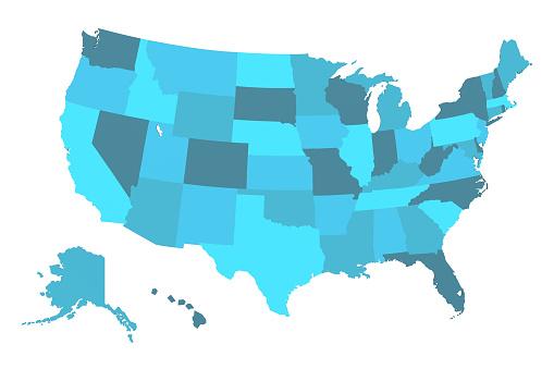 Detailed USA Map 1056103150