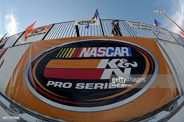 A detailed view during the NASCAR KN Toyota/NAPA Auto Parts 150 at the All American Speedway on October 11 2014 in Roseville California
