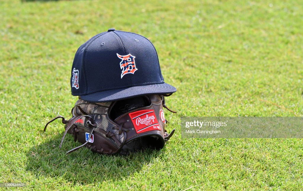 Detroit Tigers Spring Workout : News Photo