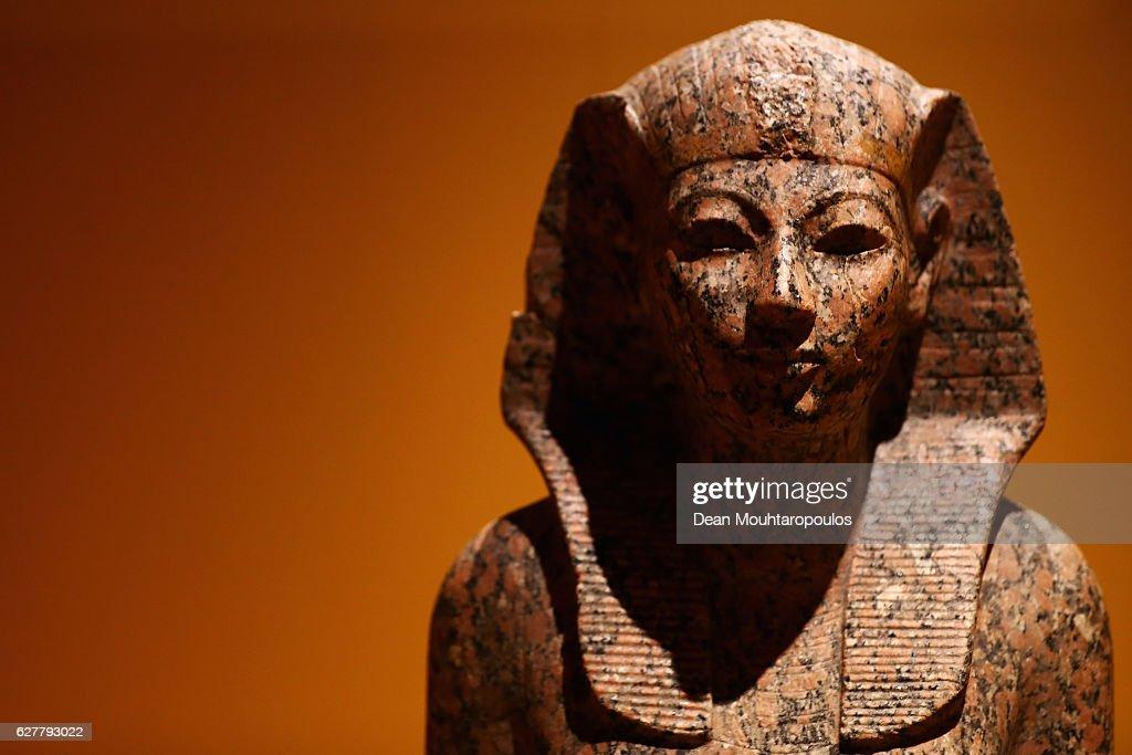 Queens of the Nile Exhibition At Rijksmuseum van Oudheden : News Photo